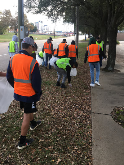 "Pine Tree Baseball participated in ""Keep Longview Beautiful, Green and Clean"